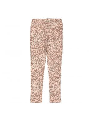 MarMar Cph Leopard Legging Rose Brown