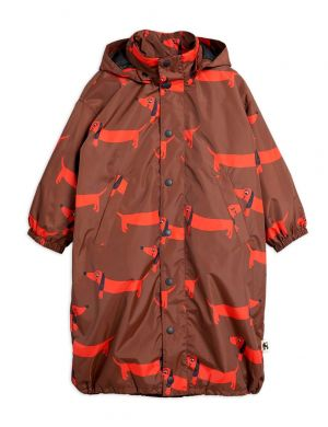 Mini Rodini Dog Printed Rain Coat 2 in 1 - Limited Edition