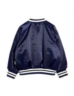 Mini Rodini Bulldog Baseball Jacket Navy
