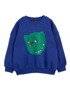 Mini Rodini Bulldog Sweatshirt Navy