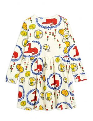 Mini Rodini Sighthound aop ls Dress