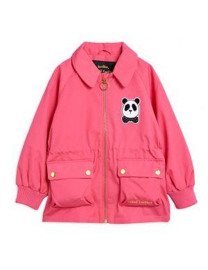 Mini Rodini Panda Jacket Pink