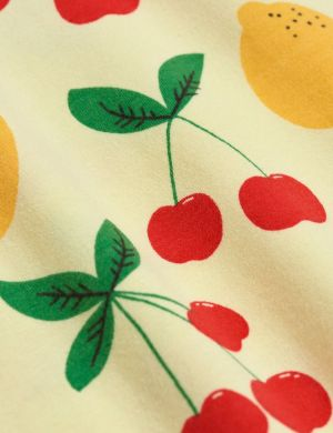 Mini Rodini Cherry Lemonade aop ss Tee