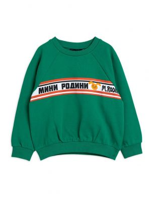 Mini Rodini Moscow Sweatshirt Green