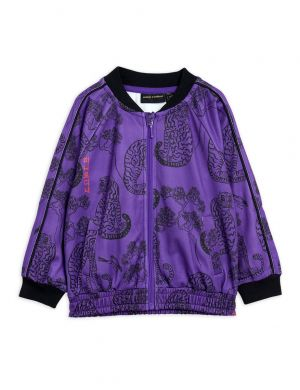 Mini Rodini Tigers wct Jacket Purple