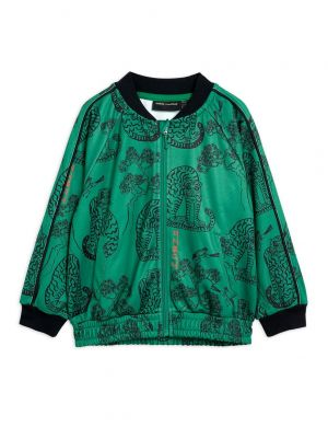 Mini Rodini Tigers wct Jacket Green