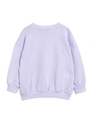 Mini Rodini Trans Siberian sp Sweatshirt Purple