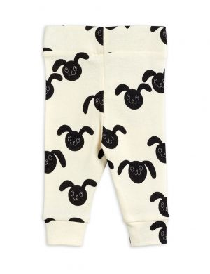 Mini Rodini Rabbits aop Newborn Leggings