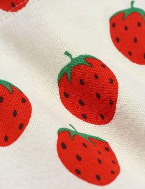 Mini Rodini Strawberry aop Leggings