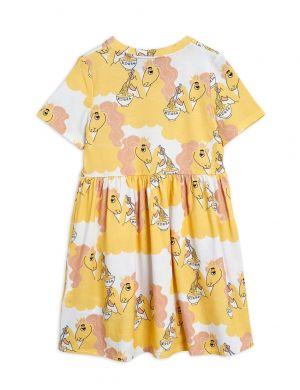 Mini Rodini Unicorn Noodles aop SS Dress