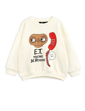 Mini Rodini E.T. sp Sweatshirt Offwhite
