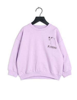 Mini Rodini Polar Bear sp Sweatshirt Purple