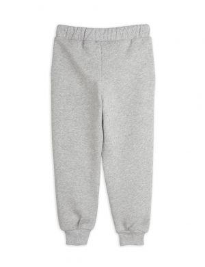 Mini Rodini Peace Dove Sweatpants Grey Melange