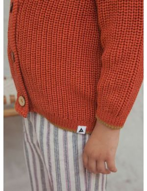 Ammehoela Cardy Cardigan orange-dust