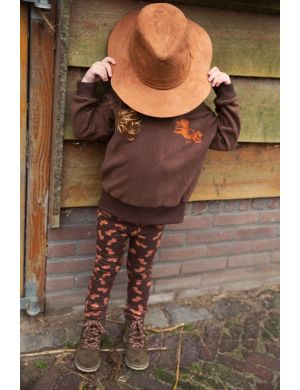 Ammehoela James Pants Horse-Brown