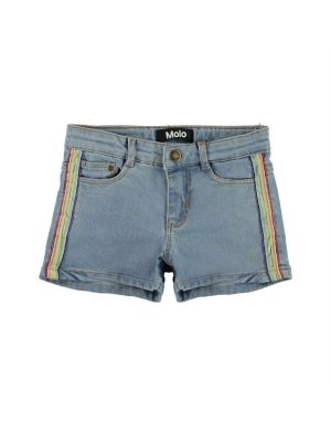 Molo Angelina Short Light Blue Denim