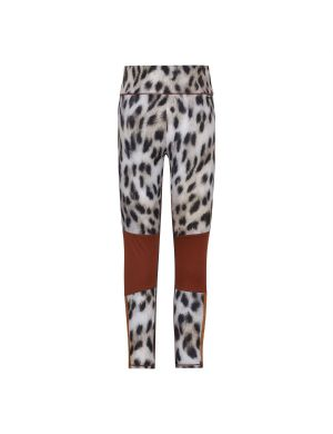 Molo Olympia Legging Snowy Leo Fur