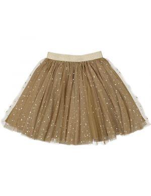 MarMar Cph Solo Sun Skirt Ballerina Dotty Dark Mustard