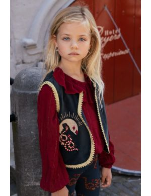 Ammehoela Emmy Gilet Kids Pirate Black Snake