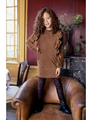 Ammehoela Lucy Dress Wood