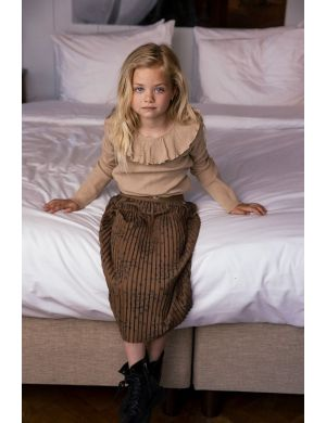Ammehoela Romee Skirt Dot Wood