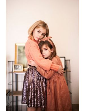 Tocoto Vintage Glitter Skirt