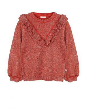 Ammehoela Cher Sweater Bombay Brown