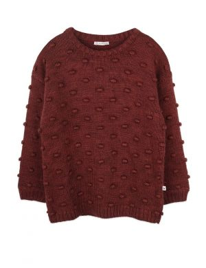 Ammehoela Dottie Sweater Brick