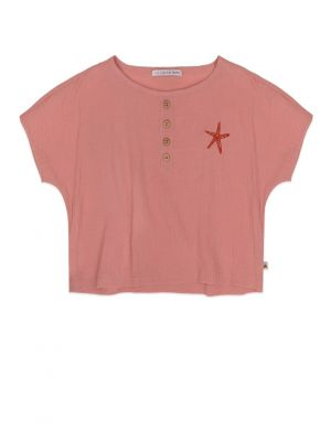 Ammehoela June crop top Granny Pink