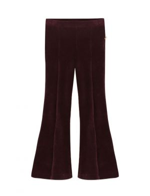 Ammehoela Liv Flared Pants Plum