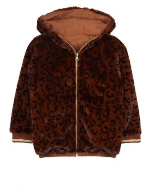 Ammehoela Lola Jacket Brown Leopard