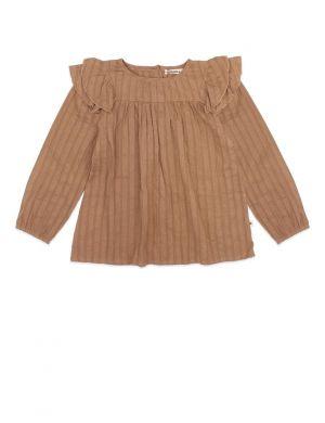 Ammehoela Olive Blouse Vintage Brown