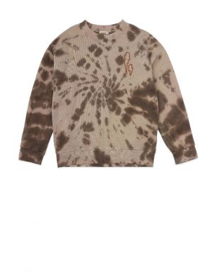 Ammehoela Rocky Sweater Tie Dye Coffee