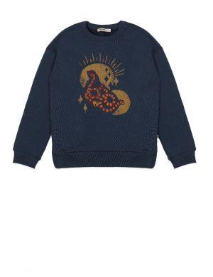 Ammehoela Rocky Sweater Moonlit Ocean
