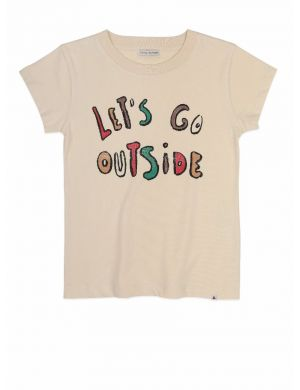 Ammehoela Zoë t-shirt Let's go outstide