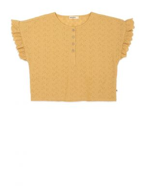Ammehoela June Top Mustard Yellow