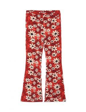 Ammehoela Liv Flared Pants Flower Big Hippie