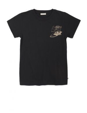 Ammehoela Zoe T-shirt Antra Surf Pig Black