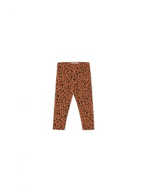 Tiny Cottons Animal Print Pant brown/dark brown