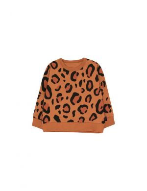 Tiny Cottons Animal Print Sweatshirt brown/dark brown