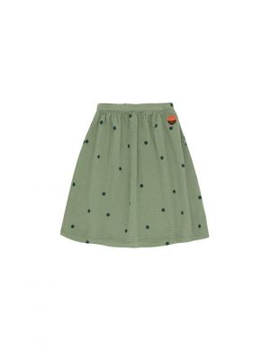 Tiny Cottons Dots Sunset Long Skirt Green wood/bottle green