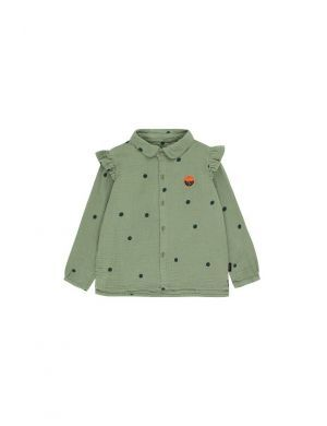 Tiny Cottons Dots Sunset Shirt green wood/bottle green