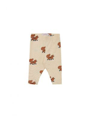Tiny Cottons Foxes Pant Baby Cream/Brown