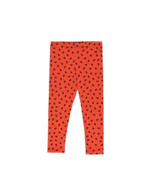 Tiny Cottons Tiny Flowers Pant Red/Navy
