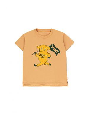 Tiny Cottons Dog Tee Camel/Yellow