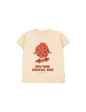 Tiny Cottons Cookie Ride Tee Cream/Brown