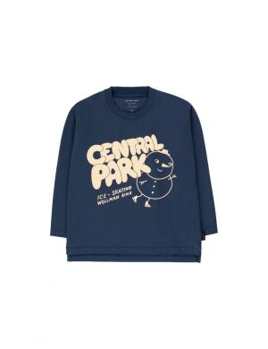 Tiny Cottons Central Park Tee Light Navy/Cream