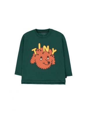 Tiny Cottons Tiny Dog Tee Dark Green/Sienna