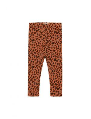 Tiny Cottons Animal Print Pant Sienna/Dark Brown