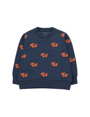 Tiny Cottons Foxes Sweatshirt Blue